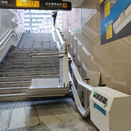 斜挂式残疾人升降平台