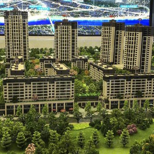 残疾人升降平台-重庆华远海蓝城项目